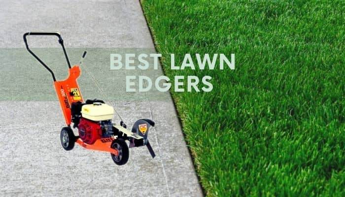best lawn edgers - gas, electric, manual, cordless