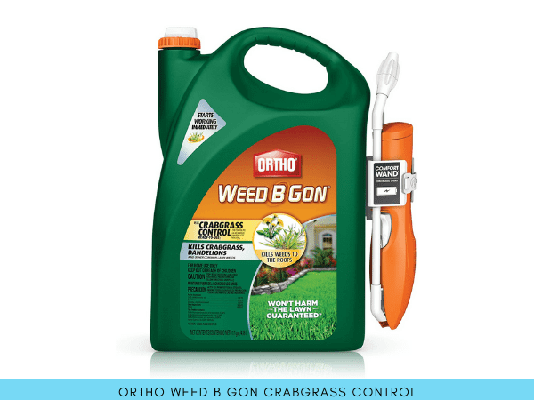 best crabgrass herbicide for lawns - Ortho Weed B Gon
